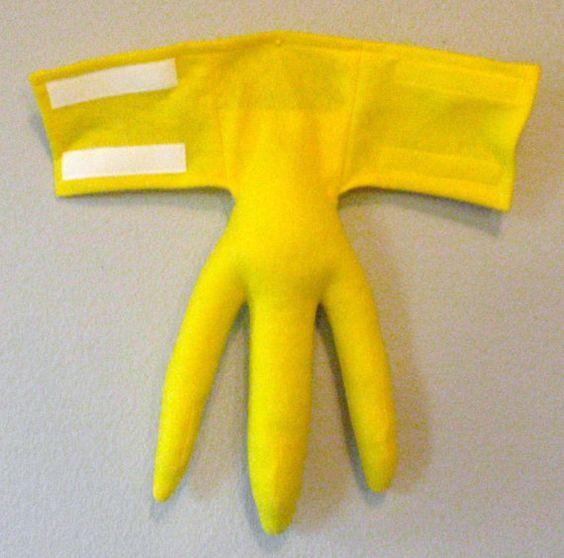 Bird feet yellow three sizes optional talons costume - Disfraz de pescado ...