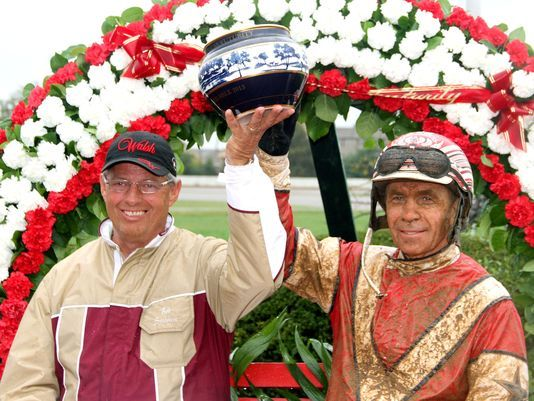 Trainer Bob Stewart & Iron Mike Lachance won the 2013 Kentucky Futurity with Creatine, a major player for the Breeders Crown Three Year Old Trot at Pocono Downs on Saturday, October 19th