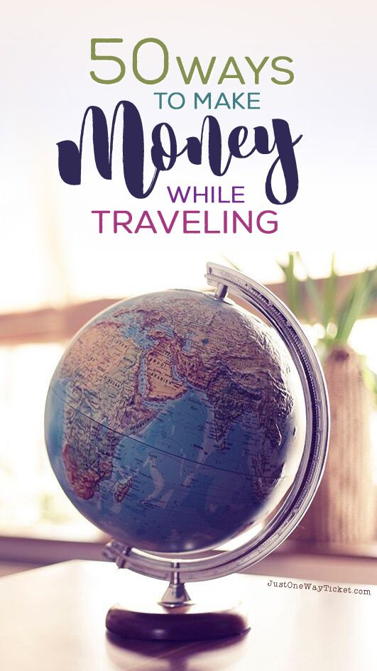 The Best Travel Jobs   50 Ways To Make Money While Traveling The World   You want to work and travel? Pack your bags! Here is the most extensive list of the best traveling jobs in the world   Photo © Melanie Mecking   Das Lichtmädchen   via @Just1WayTicket