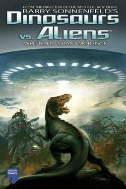 Dinosaurs vs. Aliens - the comic book