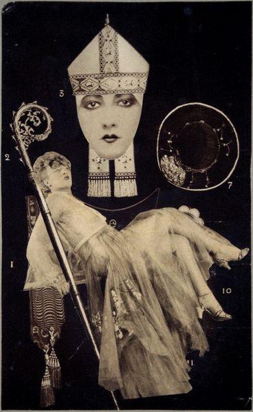 amoelbarroco:    Collage by Andre Breton  Via