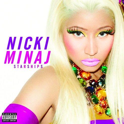 Nicki Minaj – Starships (single cover art)