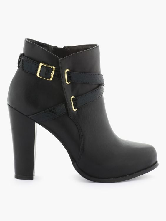 chaussures femme sinly bottines a talons compenses noire. Black Bedroom Furniture Sets. Home Design Ideas