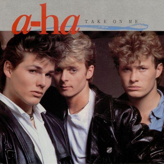 A-ha – Take On Me (single cover art)