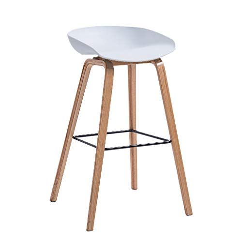Jhome Barstools High Stool Bar Stool Dining Chair Round Seat Wooden Breakfast Kitchen Countertop Garden Greenhouse Coffee Bar Stools Wood Bar Stools High Stool