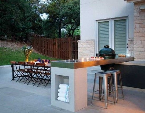 Ikea Outdoor Kitchen Island With A Table For Eight Outdoor Kitchen Design Outdoor Kitchen Contemporary Patio