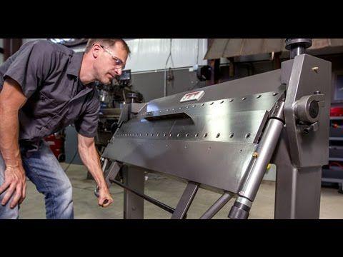 Jet Sheet Metal Box And Pan Brake With Foot Clamp Youtube In 2020 Metal Box Sheet Metal Metal Tools