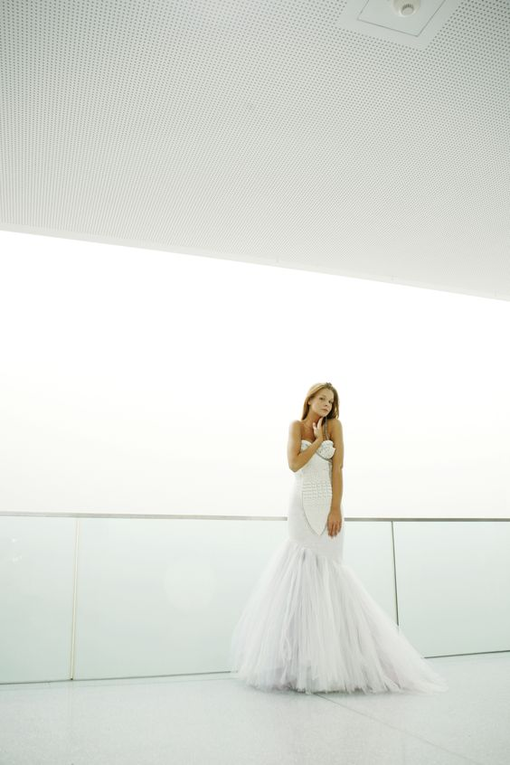 """Wedding dress """"Gorizia"""" by Katrin Kafka id139"""