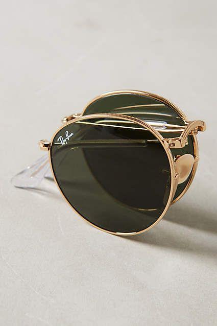 ray ban folding sunglasses sale  ray ban round folding sunglasses anthropologie