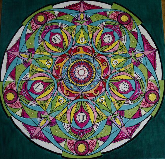 Mandala feng shui 5 elementi mandalas lokiarts for Cuadros mandalas feng shui decoracion mandalas