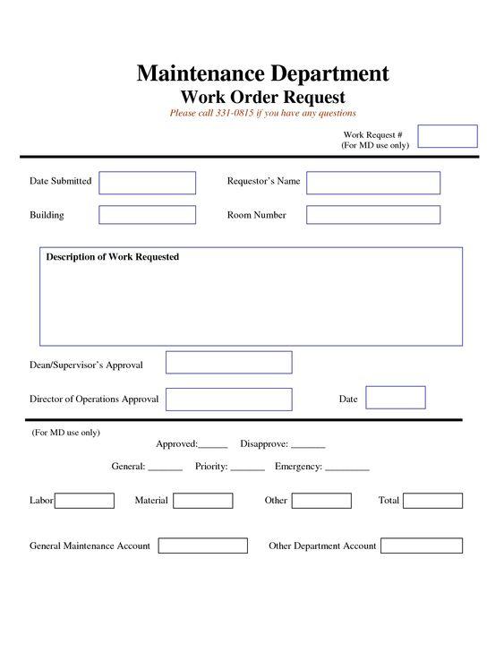 Organigrama operativo del Centro ITAE que se divide en dos áreas - work request form
