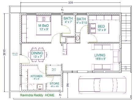 30 39 x 22 39 floor plans 30x40 house plans home plans for House plans for 30x40 site
