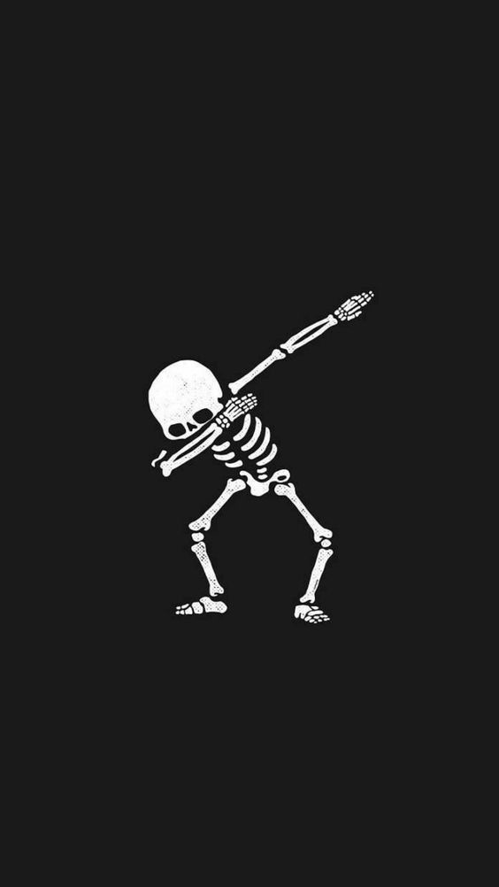 Hehehe Skull Wallpaper Funny Wallpapers Halloween Wallpaper