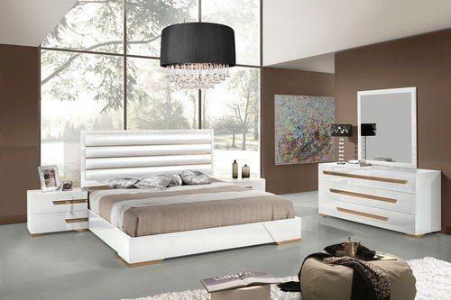 Nova Domus Italian Modern Grey Leather Queen Size Bed Frame Phong Ngủ Phong Ngủ Hiện đại