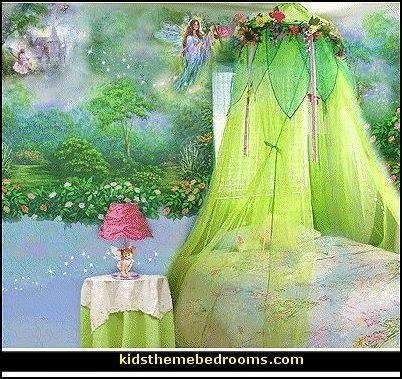 Fairy themed room fairy bedroom ideas fairy fantasy for Enchanted forest bedroom ideas