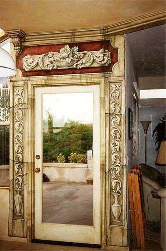 classic murals architectural details trompe l 39 oeil murals elegant walls paper fresco. Black Bedroom Furniture Sets. Home Design Ideas