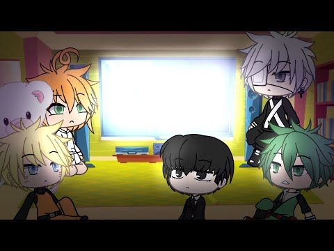 Anime Protagonists React To Their Memes Gacha Life Part 2 Youtube Anime Memes Protagonist