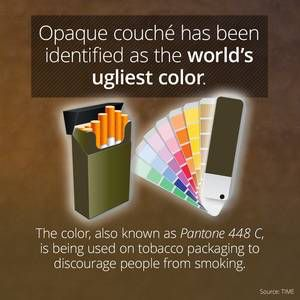 I learned something cool on the @curiositydotcom app:  Researchers Have Identified The Ugliest Color On Earth