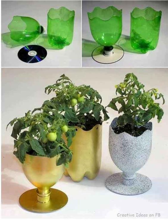 Creative Art Ways PET bottles 009: