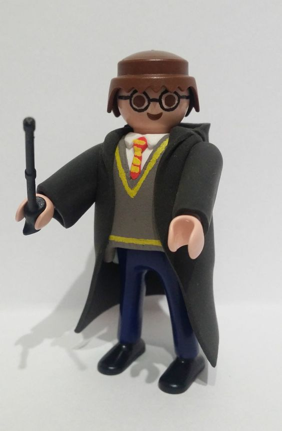 Detalles De Figura Custom Harry Potter Playmobil