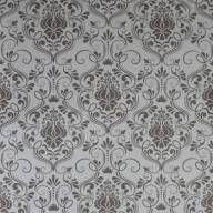 Papel de parede clássico em tons de cinza 036