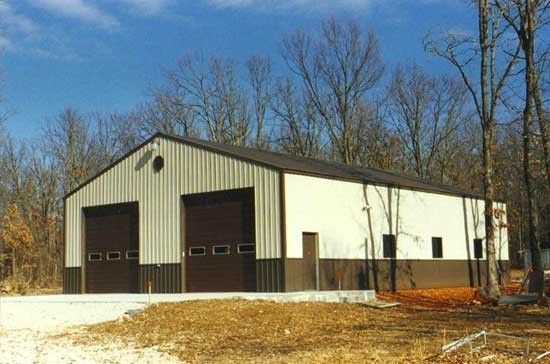 40x60x14 12x12 Doors With 48 Wainscot Lean To On The Right Side Pole Barn House Plans Metal Shop Building Pole Barn Homes