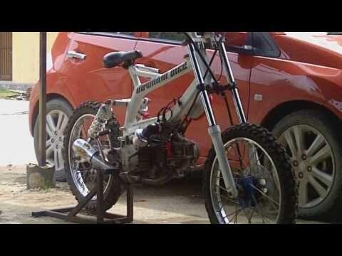 Modifikasi Suzuki Smash Jadi Motor Downhill Youtube Kendaraan Motor Motor Modifikasi