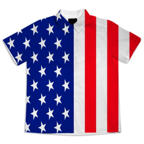 USA-STARS AND STRIPES created by libertybell | Print All Over Me