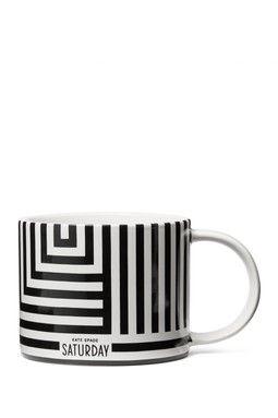 Saturday Morning Printed Stoneware Mug