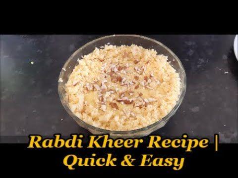 Pin On Rabdi Kheer Recipe Cook Along With Bushra