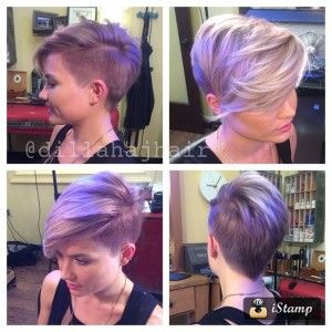 Cortes de pelo asimétricos para las señoras de moda con pelo corto | http://www.cortesdepelomujer.net/cortes-de-pelo-para-mujeres/cortes-de-pelo-asimetricos-para-las-senoras-de-moda-con-pelo-corto/1918/