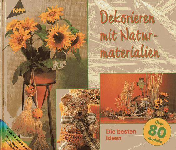 dekorieren mit naturmaterialien topp frechverlag deko basteln, Garten seite