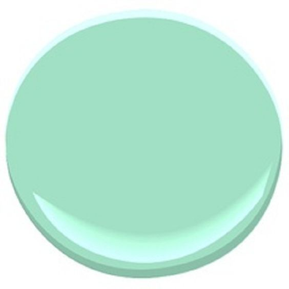 Benjamin Moore Mint Green Paint Colors for Your Home: Benjamin Moore Mint Green ~ latricedesigns.com Paint Inspiration
