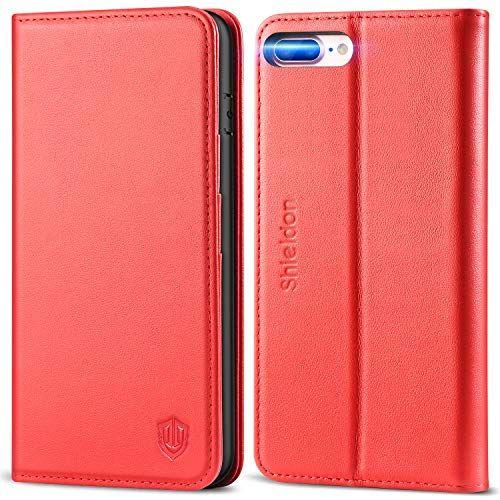 SHIELDON Coque iPhone 8 Plus Etui iPhone 8 Plus Housse ...