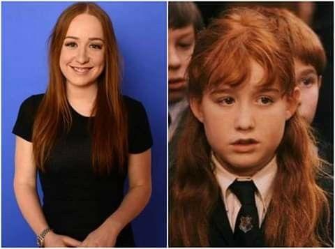 Happy Birthday Eleanor Columbus Who Portrayed Susan Bones In The Harry Potter Films