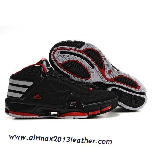 sale retailer e1574 b8e56 Adidas T-Mac 8 Tracy McGrady Shoes Black Red