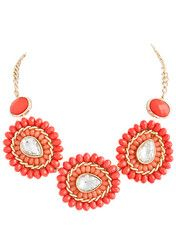Coral Burst Necklace