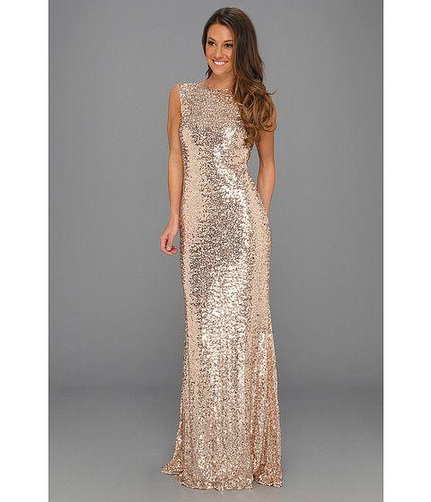 Beaded- Metallic- and Sequined Bridesmaid Dresses - Runway- Maids ...