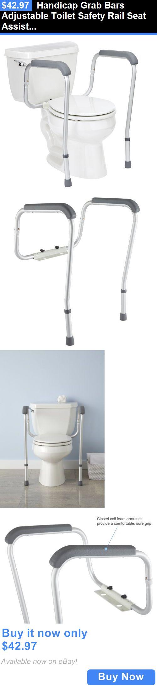 Remarkable Handicap Toilet Seat Rails Pictures Exterior Ideas D - Handicap bathroom handles