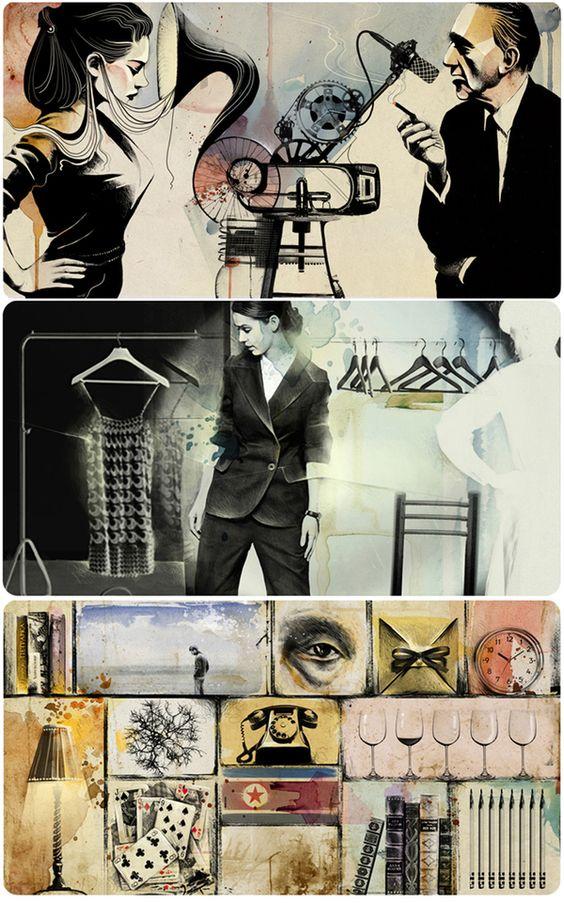 Illustrations (april 2010 - december 2010) on Behance