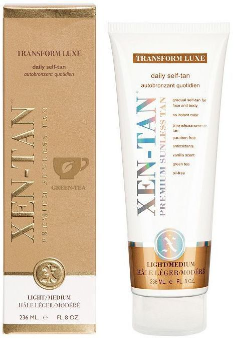 Pin for Later: Get the Glow With the 10 Best Gradual Tanners Xen-Tan Transform Luxe Daily Self Tan