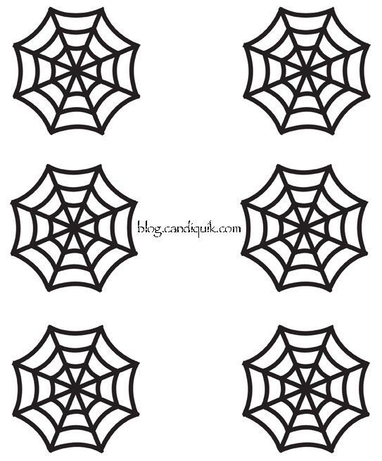 cupcake toppers halloween cupcakes and spider webs on pinterest. Black Bedroom Furniture Sets. Home Design Ideas