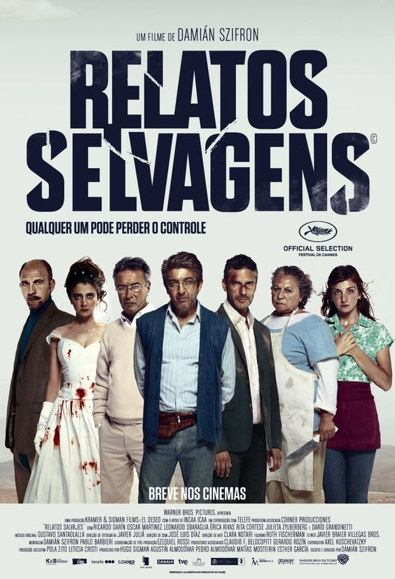 Pôster Relatos Selvagens WARNER BROS. PICTURES DIVULGA PÔSTER DE RELATOS SELVAGENS