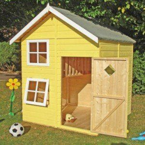 Shire Croft Playhouse, Two storey wooden playhouse now on sale