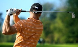 Groupon - $ 240 for an 18-Hole Playing Lesson for Two from John Marshall Golf ($480 Value)  in Sandy Springs. Groupon deal price: $240