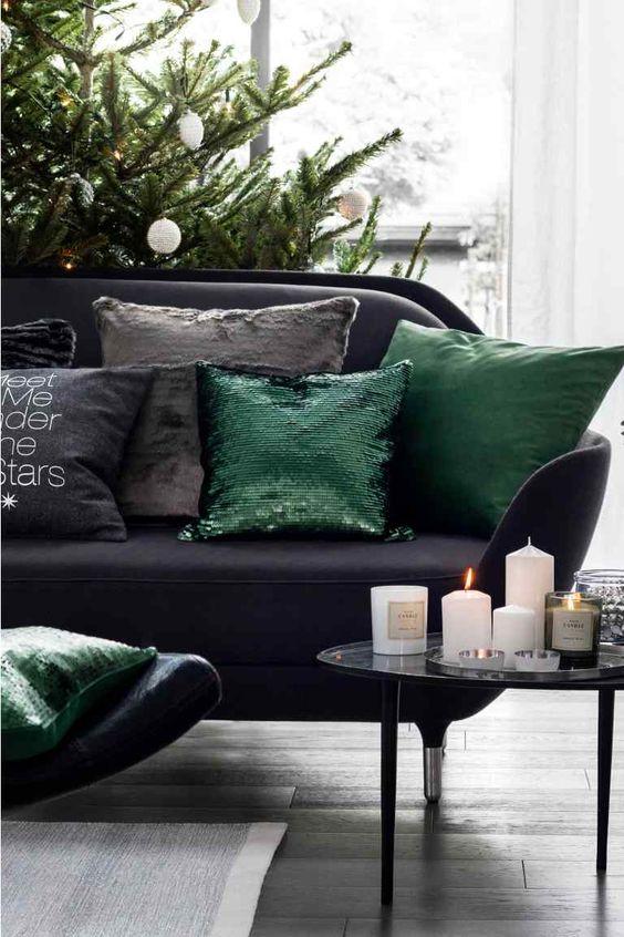Fodera cuscino con paillettes   H&M