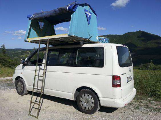 Mercedes Metris Westfalia >> vw t5, overcamp, tenda da tetto, roof tent, maggiolina, aircamping, | overcamp | Pinterest | Vw ...