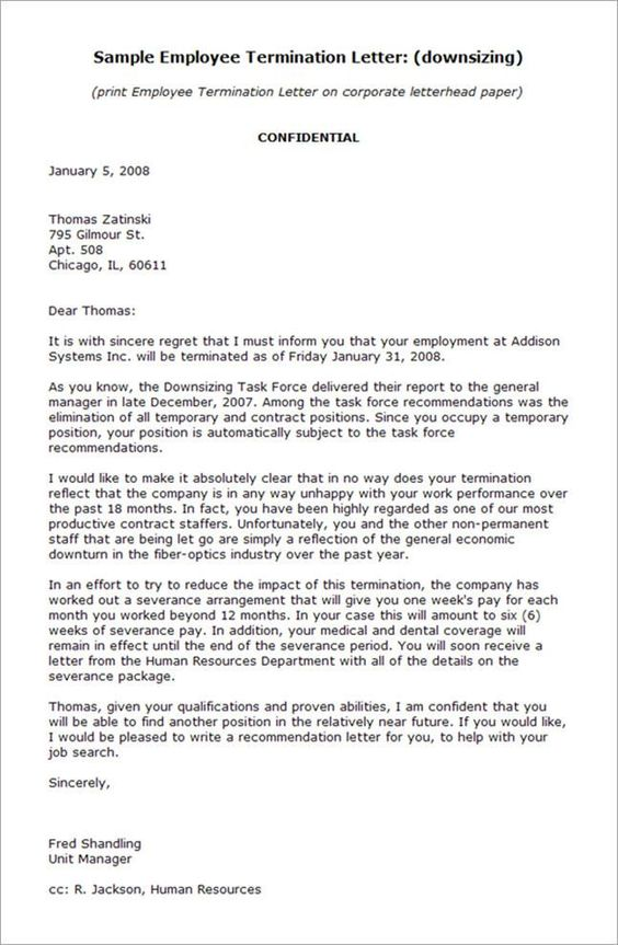 Doc Business Termination Letter   Contract Termination