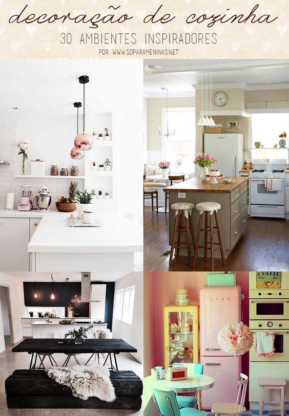 decoração de cozinha: 30 ambientes inspiradores