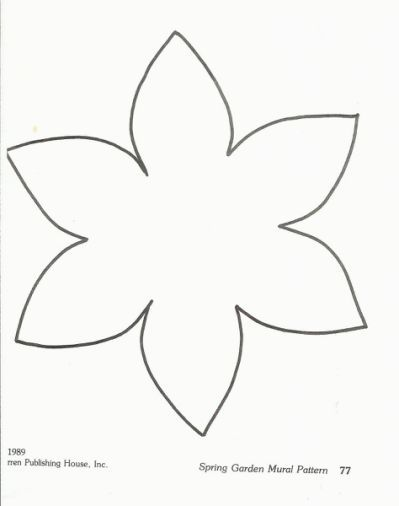 1000 Images About Springtime And Flower Template Flower Crafts Flower Templates Printable